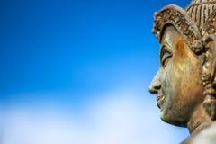 Статуя бронзы Vishnu Стоковые Изображения