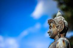 Статуя бронзы Vishnu Стоковые Фотографии RF