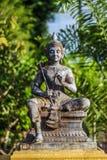 Статуя бронзы Vishnu Стоковые Изображения RF