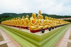статуя Будды золотистая Стоковые Фотографии RF