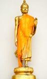 статуя Будды золотистая Стоковые Изображения