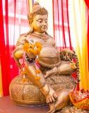 статуя Будды золотистая Стоковые Изображения RF