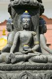 статуя Будды Непала Стоковая Фотография