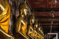 Статуя Будды Таиланда и Азии Стоковое Фото