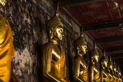 Статуя Будды Таиланда и Азии Стоковая Фотография