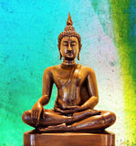 Статуя Будды. стоковое изображение rf