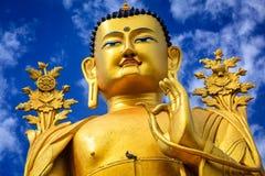 Статуя Будды Maitreya в Ladakh, Индии стоковая фотография