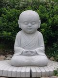 статуя буддийского монаха Стоковое фото RF