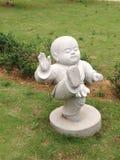 статуя буддийского монаха Стоковое Изображение RF