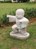 статуя буддийского монаха Стоковые Изображения