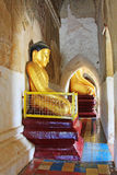 Статуя Будды виска Bagan Gawdawpalin, Мьянма Стоковое Изображение RF