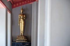 Статуя Будды в виске, Бангкоке Стоковая Фотография