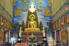 Статуя Будды в виске Таиланде bua wat kwan Стоковые Изображения RF