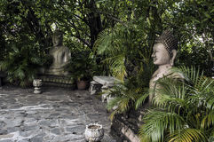 Статуя Будды в Камбодже Стоковые Изображения