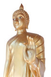 статуя Будды золотистая Стоковая Фотография RF