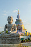 Статуя Будды на виске тонны Tha Стоковое фото RF