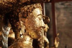 Статуя Будды на виске Wat Yai Chai Mongkhon Стоковое Изображение