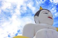 Статуя Будды, статуя, висок Montian, тайский висок Стоковое Изображение RF