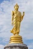 статуя Будды стоящая Стоковые Изображения