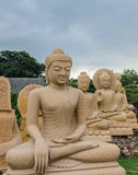 Статуя Будды, Таиланд Стоковые Фото