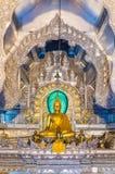 Статуя Будды, Chiangmai, Таиланд стоковые изображения rf