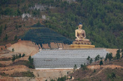 Статуя Будды Dordenma Стоковые Изображения