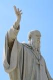 Статуя Венедикта Nursia стоковое изображение rf