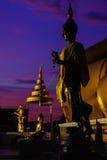 Статуя виска Таиланда Стоковая Фотография RF