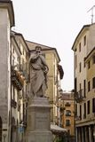 Статуя Виченца Италии известного архитектора Андреа Palladio Стоковое Изображение RF