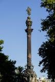 Статуя двоеточия Стоковые Изображения