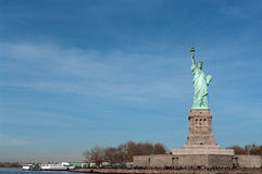 Статуя вольности в New York Стоковые Изображения RF