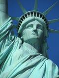 Статуя вольности, нью-йорк стоковые фотографии rf