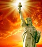статуя вольности стоковые фото