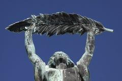 статуя вольности budapest Стоковое Изображение