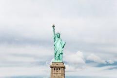 Статуя вольности в нью-йорк Стоковые Фотографии RF