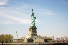 Статуя вольности в нью-йорк стоковое фото rf