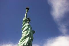 Статуя вольности в нью-йорк стоковая фотография rf