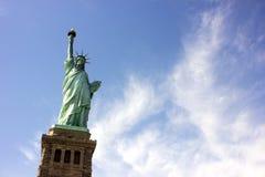 Статуя вольности в нью-йорк стоковое изображение rf