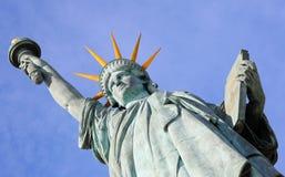 Статуя вольности в Париже Стоковое Изображение RF
