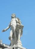 Статуя Вольфганг Амадей Моцарт, вены, Австрии стоковые изображения
