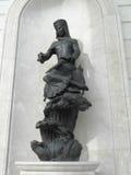 Статуя в Астане стоковые фото