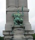 Статуя в Брюсселе Бельгии стоковая фотография rf