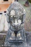 Статуя в виске Таиланда Стоковые Фотографии RF