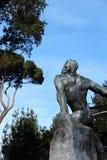 Статуя в вилле Borghese садовничает, Рим, Италия Стоковые Изображения RF