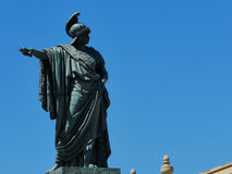 Статуя в Кальяри стоковые фото