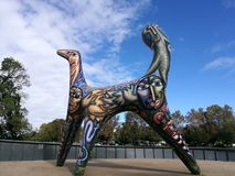 Статуя в Мельбурне Австралии Стоковая Фотография