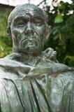 Статуя в музее Rodin в Париже Стоковая Фотография
