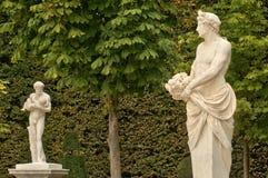 Статуя в парке дворца Версаль Стоковая Фотография RF