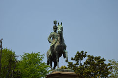 Статуя в парке Стоковое Фото
