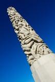 Статуя в парке Vigeland, Осло Стоковые Фото